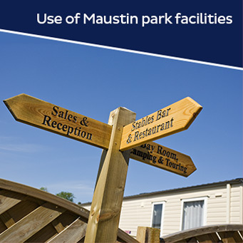 Use of Maustin Park facilities.
