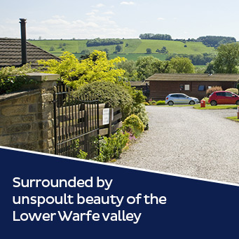 Surrounded by the unspoult beauty of the Lower Warfe valley.